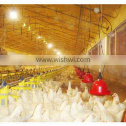 evaporative air curtain for poultry house