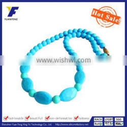 food grade silicone teething beads bulk with different types of beads Silicone teething beads