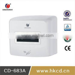 wall mounted hotel hand dryer automatic hand dryer with 220V CD-683A