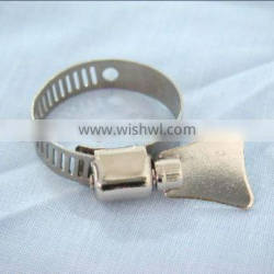 strong torque german type hose clamp
