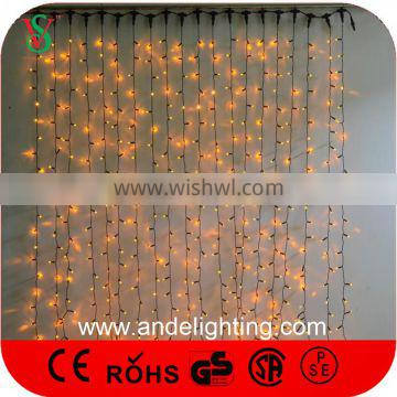 Outdoor Holiday LED Christmas Decorations Flashing Curtain Lights