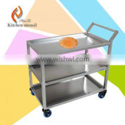 Tray rack Stainless steel pan trolley cart for kitchen use different style design