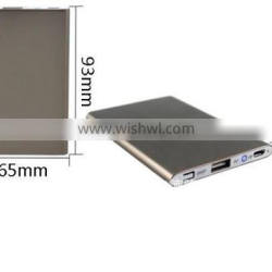 Power bank small slim thin 2700mah mobile charger stand