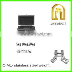 oiml standard F1 Calibration weight, stainless steel weight 10kg