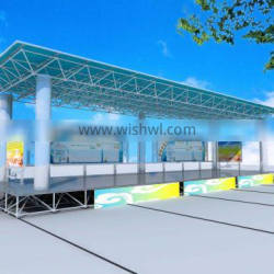 Iso Certification Steel Structure Grid Frame For Residential Buildings