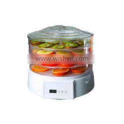 Hot sale Round Food Dehydrator With Timer and Fan