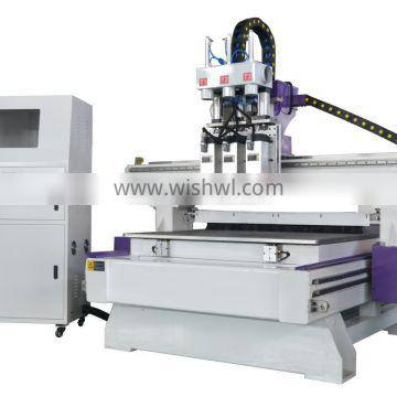 LT-1325 A-3 Plastic/Acrylic/ MDF/PVC/ Furniture/Door cutting engraving cnc router machine with 3 spindles