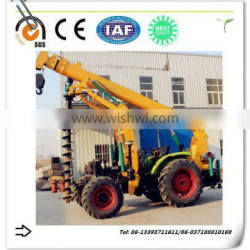 Fence post hole digger with advanced technology post hole digger auger drill
