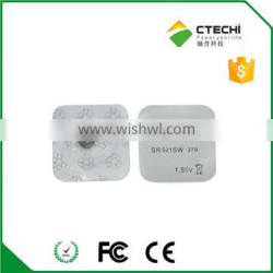 coin cell SR521W 379 1.55V dry battery Silver Oxide button cell blister card package