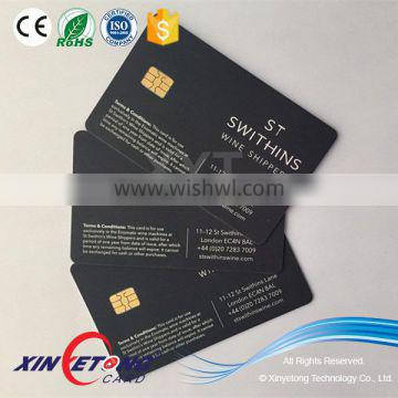 Security IC Card/Contact chip 4442 Smart PVC Card /Credit ID Card