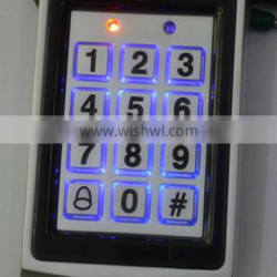 Metal Access Control Reader with Electric Locking Interface
