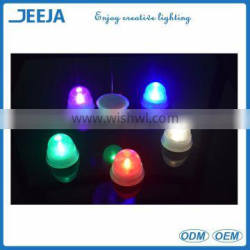 Mini waterproof led button battery powered LED candle light for wedding centerpieces