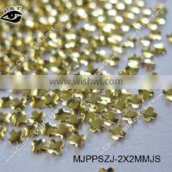 Small Size Nail Studs 2x2mm Gold Cross Studs for Nail art Decorations
