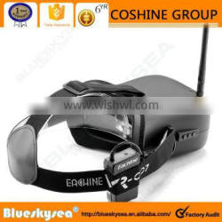 """Eachine 5.8G 40CH FPV Goggles Video Glasses 4.3"""" Screen&Battery For DJI Drone"""