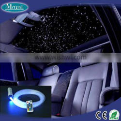 NEW mini car roof top cailing star light with RGB LED light source and fiber star cable