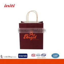 Initi Lower Price Free Design Craft Paper Carrier Bag for Clothing Company