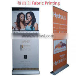 high quality cheap roll up stand with wide base
