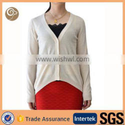 Women top quality knitted 100% cashmere sweater