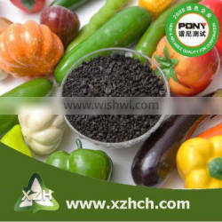 humic acid granule for Young leaves develop yellowing and plants wilt agriculture use