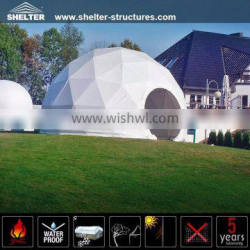 Giant modular dome tent for event
