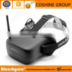 """New Eachine Video Glasses 4.3"""" Screen&Battery 5.8G 40CH FPV Racing Drone Goggles"""