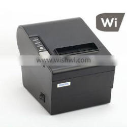 79.5mm thermal receipt printer USB wifi wireless transmission under AP mode and station mode