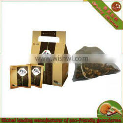 Healthy ganoderma tea(green tea)