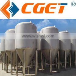 Large size beer fermentation tank for beer equipment