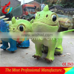 Child-friendly battery operated dinosaur rides