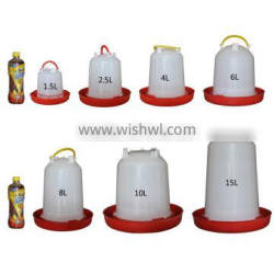 Hot sale plastic poultry automatic drinker with different sizes