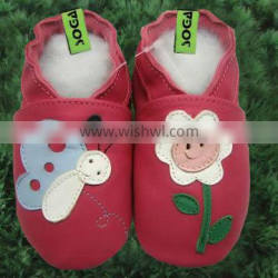 Hot sale kids shoes leather baby shoes