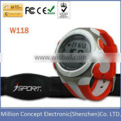 Backlight Alarm Stopwatch Exercise wristband watch
