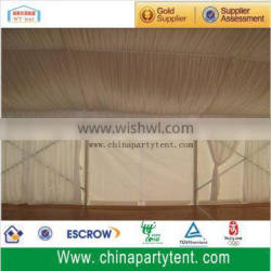 30 x 30 Outdoor white marquee event party tent with floor