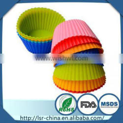 funny homemake cake baking cups/unique baking cups that make of food grade silicone