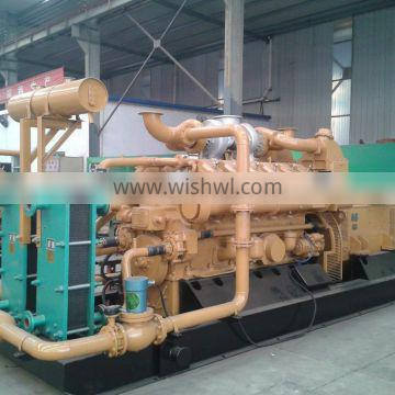 6190 inline type Diesel generator set with Sound-proof / weather-proof canopy