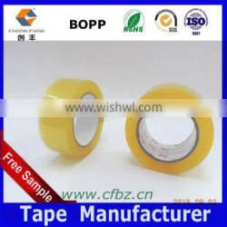 2.0 mil 3 inch Wide x 330 Feet (110 yards) Golden Color Shipping Packaging Tape