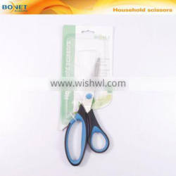 "S36009 LFGB qualified 7-3/8"" Stainless Steel Dressmaker/Tailor/Needlework Scissor in Double Injection Handle"