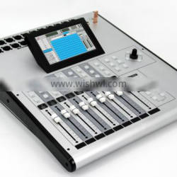 """Digital Mixer with 7""""Touch Control Panel"""