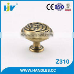 High quality unique vintage replacement brass bed knobs