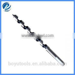 hex shank bright auger bit for wood