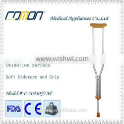 Standard underarm walking stick