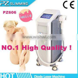 professional diode 808 nm laser for hair removal with big spot size 14*14