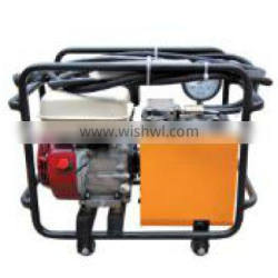 High pressure oil hydraulic pump with double stage pump output