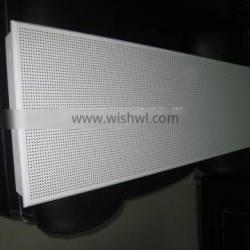 Hospital High Side Windproof Aluminum Buckle Ceiling Marble