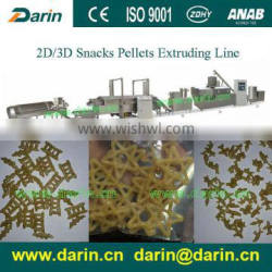 3D 2D snack food making machine puffed food processing line