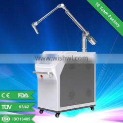 Q-switch nd yag laser skin care system , laser beauty equipment for tattoo remvoal and pigmentation removal etc