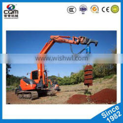 Desel earth auger/china rotary drilling machine.