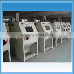 Small Wet / Dry Type Sand Blasting Room For Sale