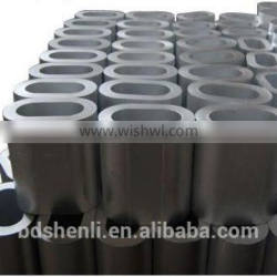 high quality custom aluminum ferrule with stamping