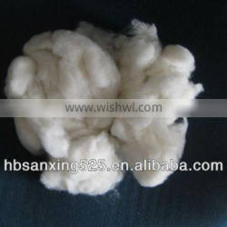 sheep cashmere 23.5mic & 30-50mm, natural white color